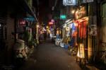 streets of Osaka at night