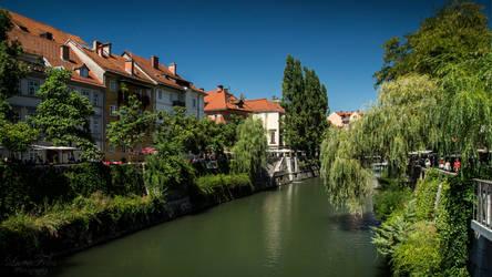 River Ljubljanica Canal