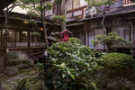 Garden of the ryokan