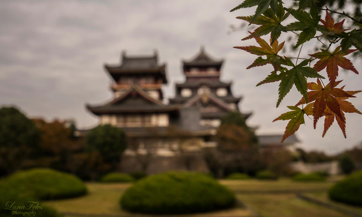 Autumn in Kyoto by LunaFeles
