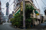 streets of Osaka - Tsutenkaku Tower