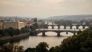 Bridges of Prague by LunaFeles