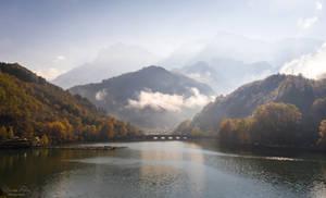 autumn on the river Neretva