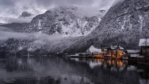 Winter in Hallstatt by LunaFeles