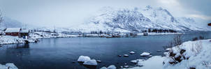 Ersfjordbotn - it's snowing by LunaFeles