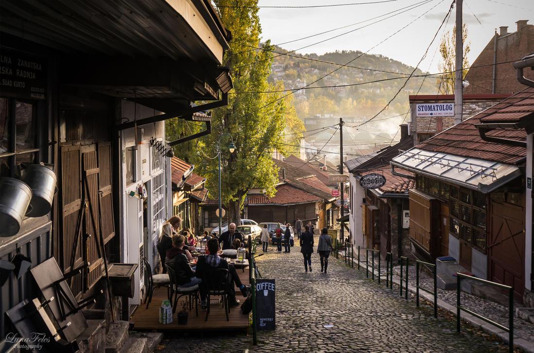 streets of Sarajevo by LunaFeles