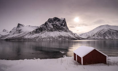 Bergsbotn - mountainscape by LunaFeles