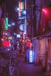 streets of Osaka - night