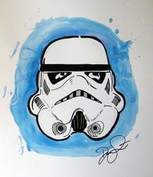 Marker sketch fan commission S by anad