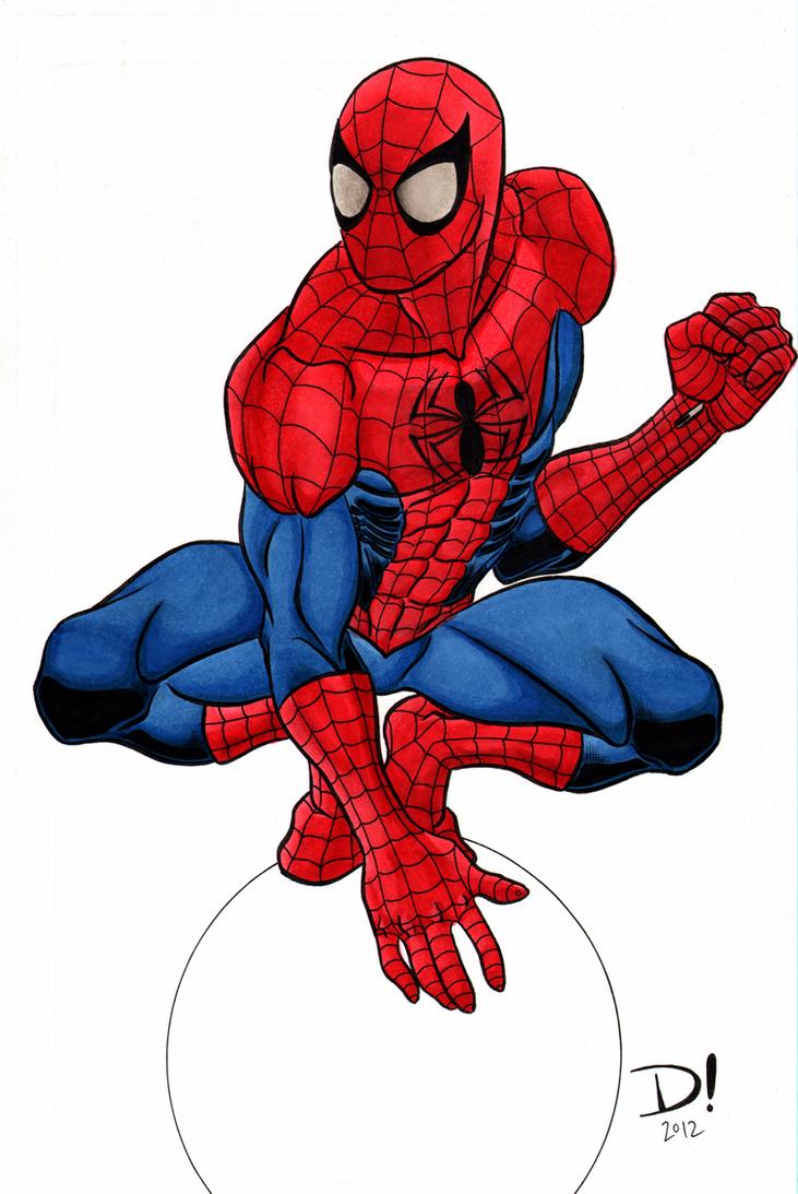 Spider-Man Marker Test... Mangaverse Spider Man Wallpaper