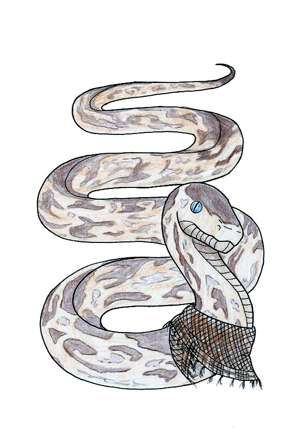 Earth snake by LadySira