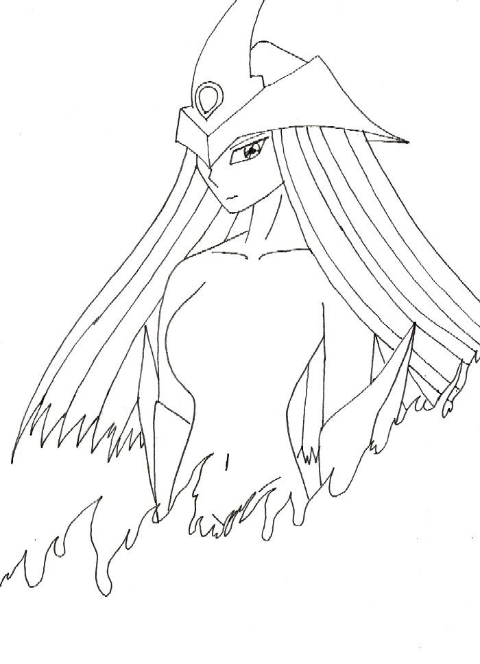 Elemental Hero Burstinatrix by LadySira