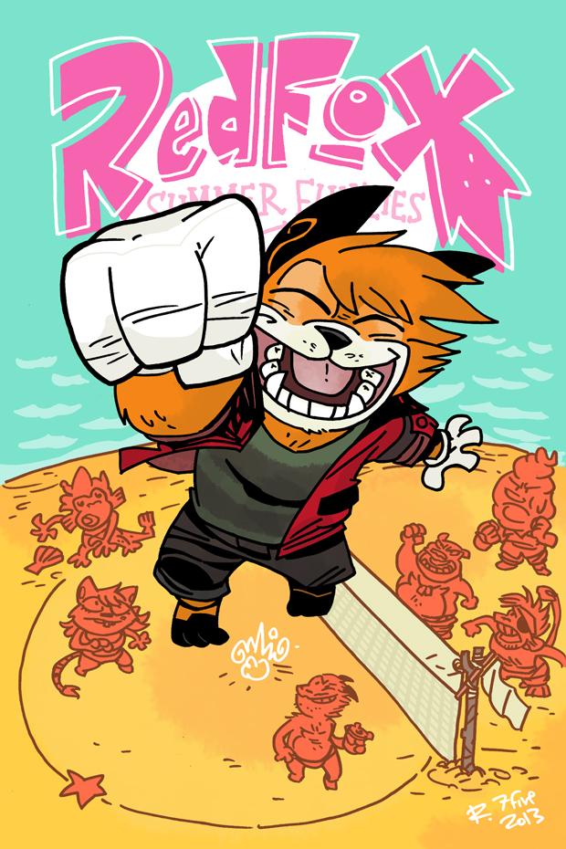 Red Fox Summer Funzies #1 by RedmondJFox