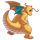 Dragonite - Dragoran by XxAmyxXx