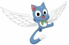 Happy from Fairy Tail by XxAmyxXx