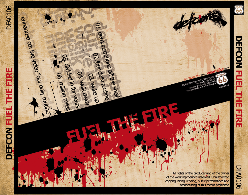 Defcon - Fuel The Fire Back by infinity-x