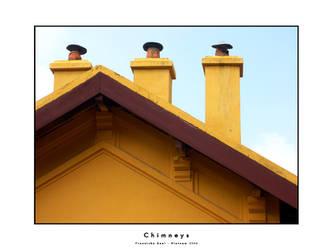 Chimneys by dekleene