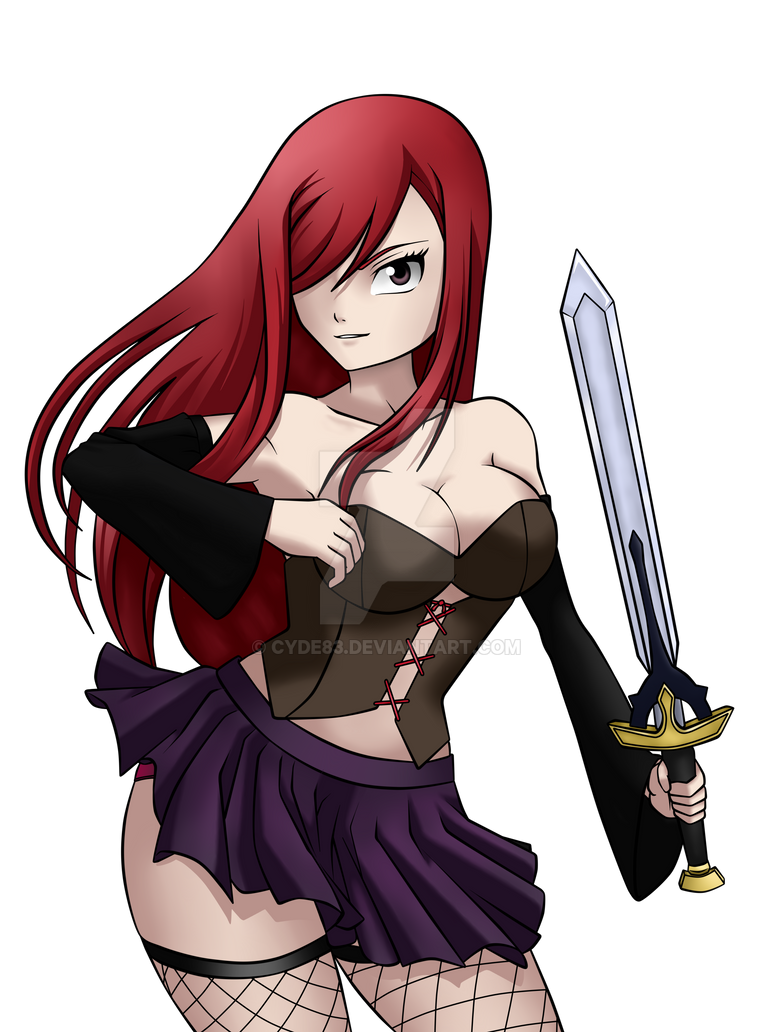 Erza scarlet fairy tail by cyde83 on deviantart - Fairy tail erza sexy ...