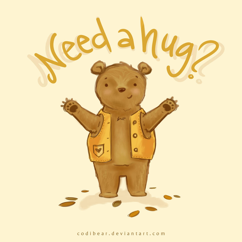 Need A Hug? By CodiBear On DeviantArt