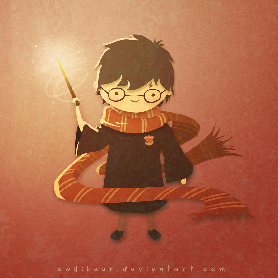 You're A Wizard, Harry by CodiBear