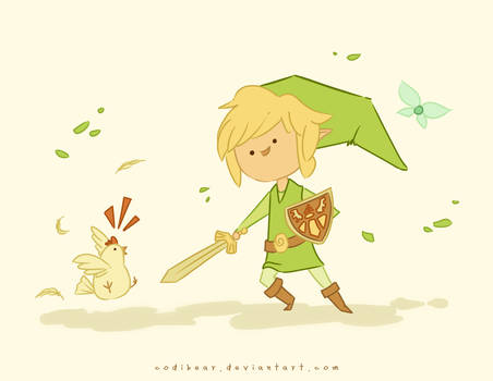Link and Chicken