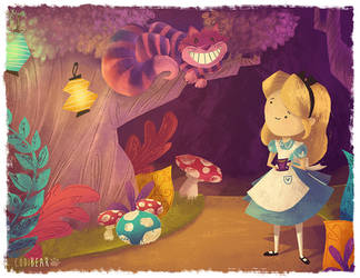 Alice and Chesh by CodiBear