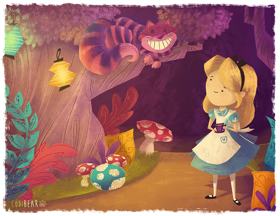 Alice and Chesh by CodiBear