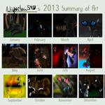 Art summary of 2013