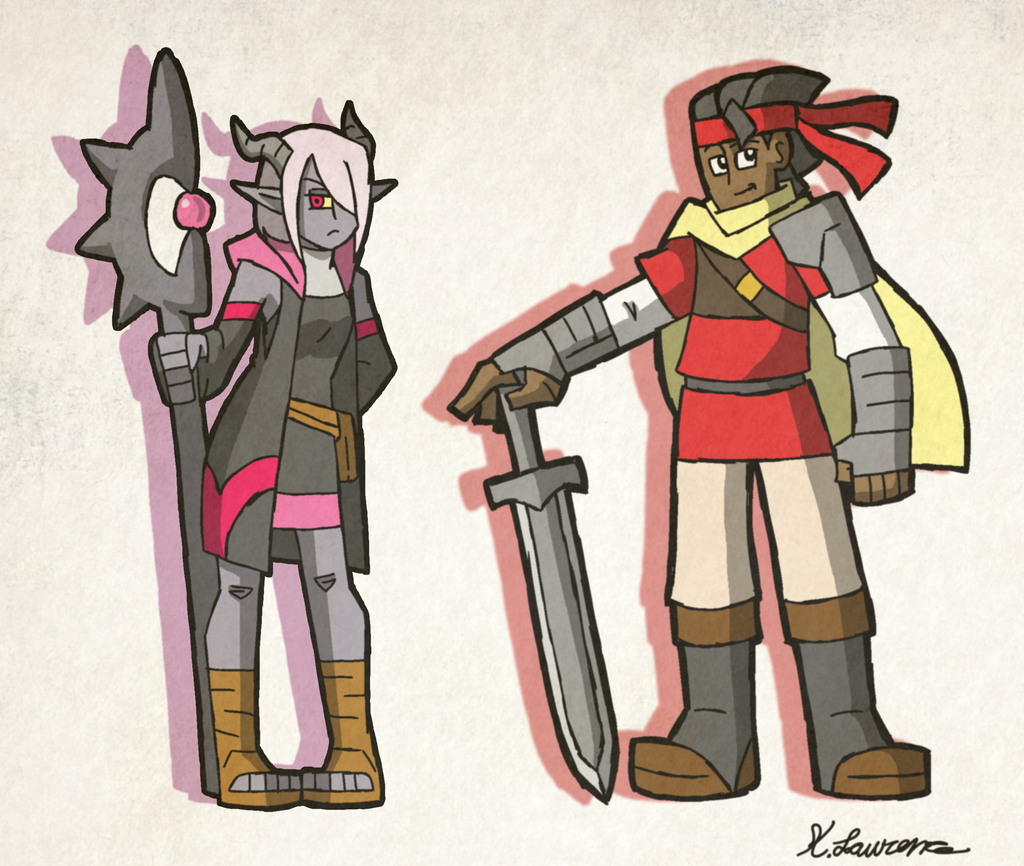 Heroes by ObsidianWolf7