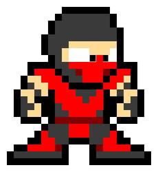 Mortal Kombat Pixel Ermac by EvilHadoken