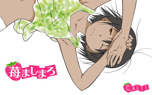 mashimaro wallpaper. Ichigo Mashimaro by ~calii on