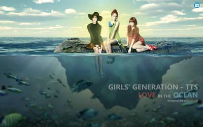 SNSD TTS Love In The Ocean