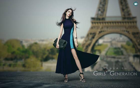 Girls' Generation - Im YoonA - Eiffel Tower