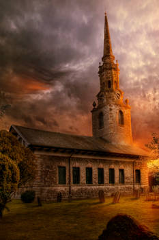 Sunset At St Lawrence