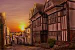 Mermaid Street Sunset