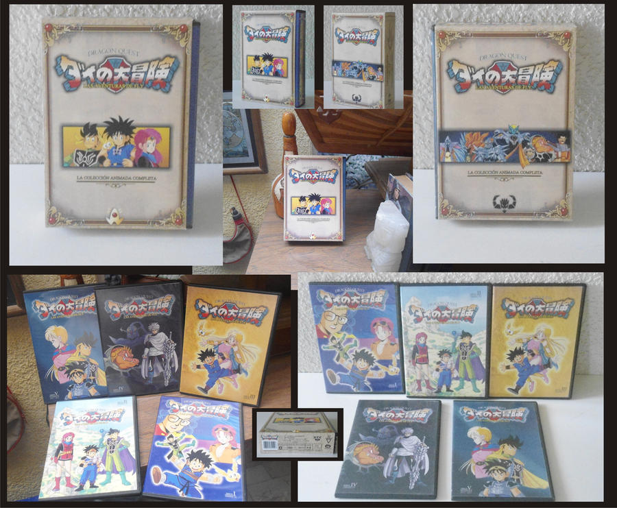 dragon quest dvd collection by egocenter on deviantart