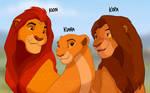 The Children of Simba and Nala