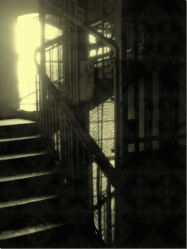 the old elevator shaft by HeretyczkaA