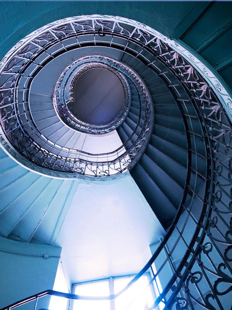 spiral stairs by HeretyczkaA