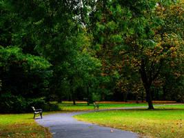 Park in Wilanow by HeretyczkaA