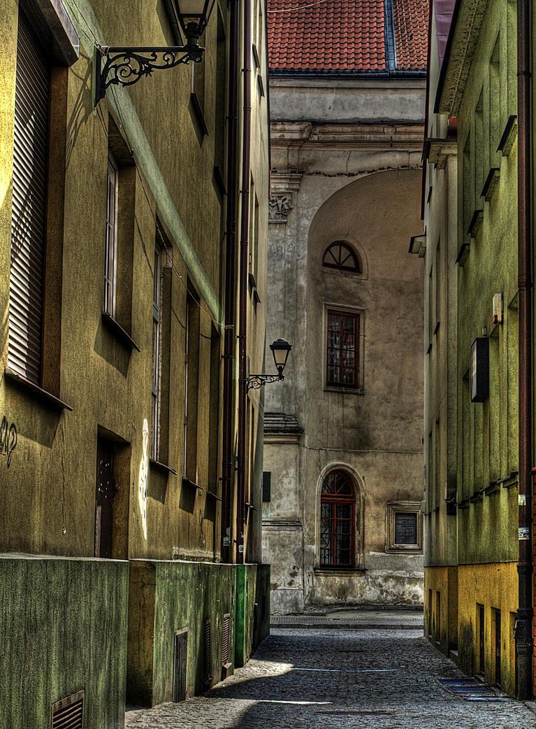 narrow street by HeretyczkaA