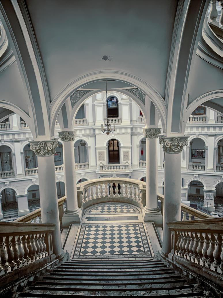 stairs by HeretyczkaA
