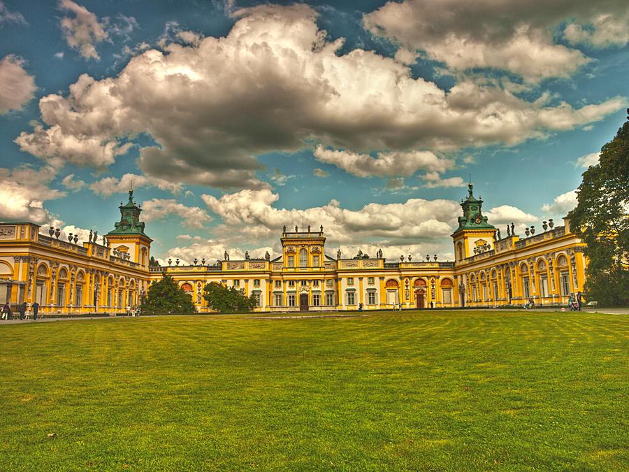 Wilanow Palace by HeretyczkaA