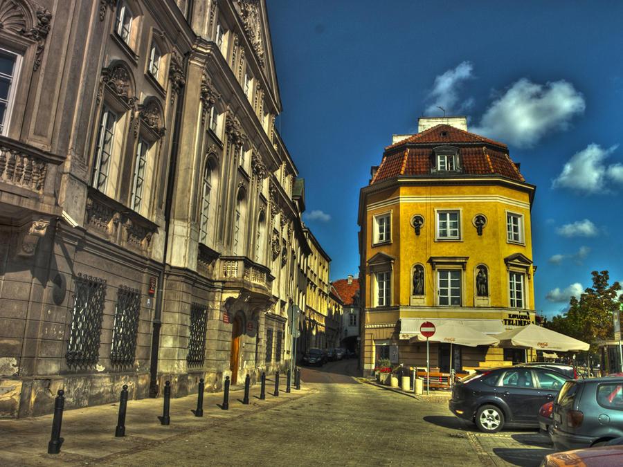 yellow building by HeretyczkaA