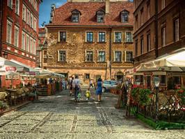 among the old houses by HeretyczkaA