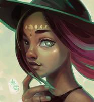 Portrait Practice 2 by SillyJellie