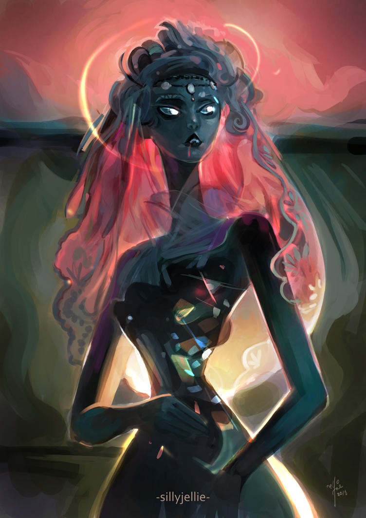 Vamp Bride by SillyJellie