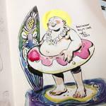 INKtober day15 | fat (v1)