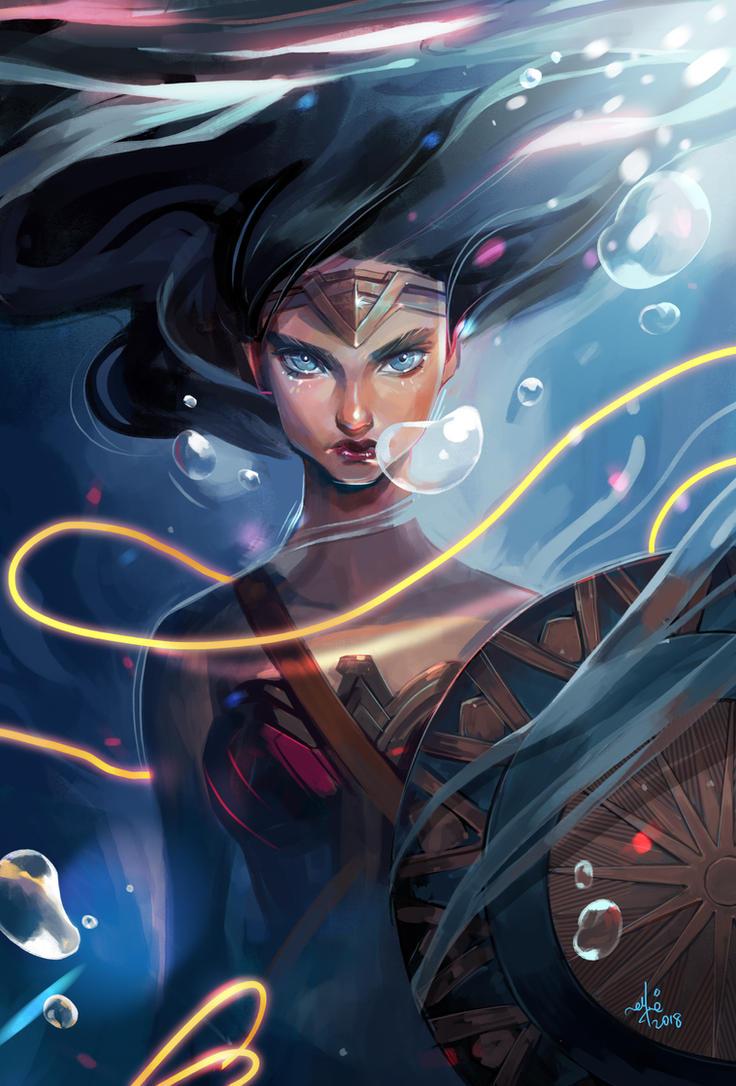 Wonder Woman by SillyJellie