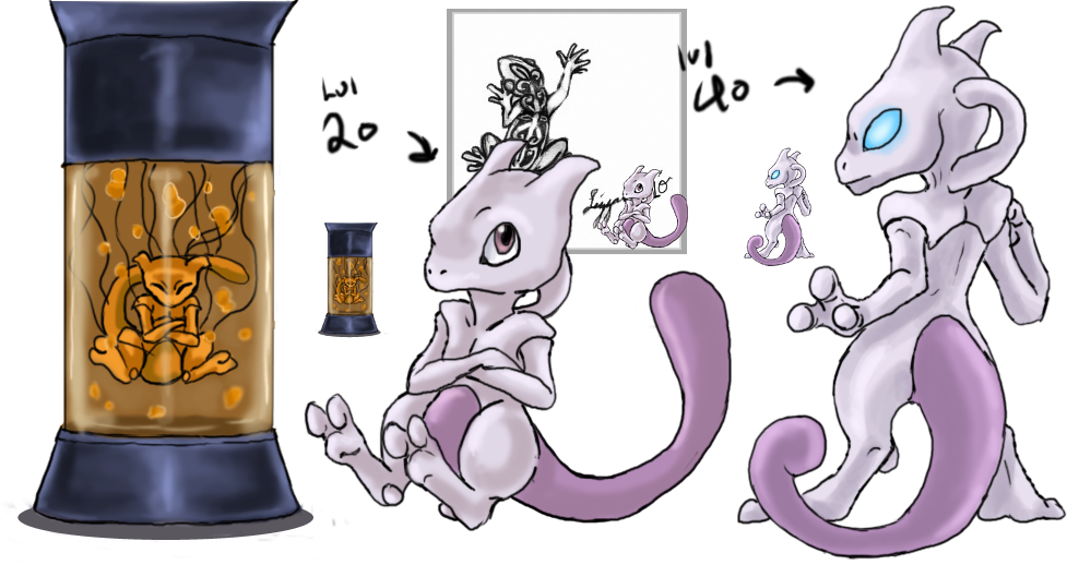 Mewtwo adopt by Da-Lizzard